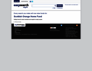 scottishorange.easysearch.org.uk screenshot