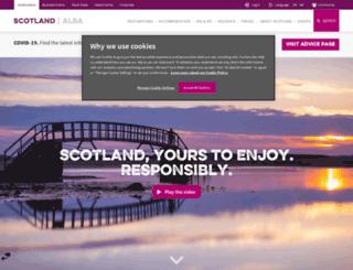 scottishwedding.visitscotland.com screenshot