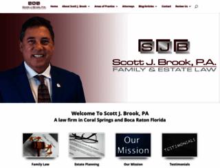 scottjbrookpa.com screenshot