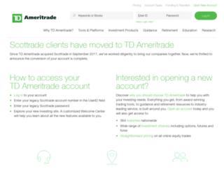 scottradeinvestmentmanagement.com screenshot