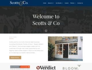 scottsandco.com screenshot