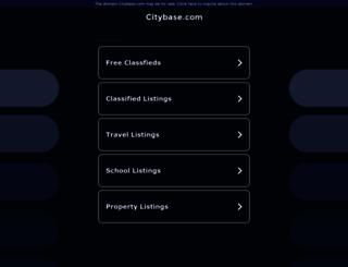 scottsdale.citybase.com screenshot
