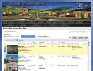 scottsdalearizonahouses.com screenshot