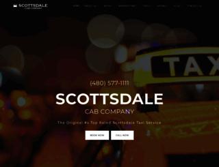 scottsdalecabcompany.com screenshot