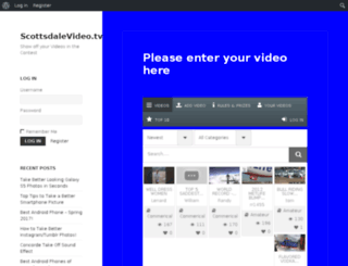 scottsdalevideo.tv screenshot