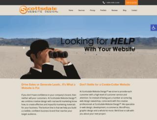 scottsdalewebsitedesign.com screenshot