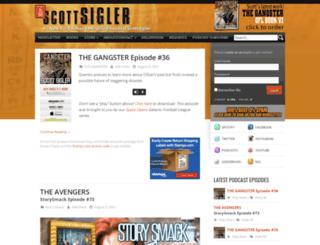 scottsigler.net screenshot