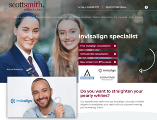 scottsmithorthodontics.com.au screenshot