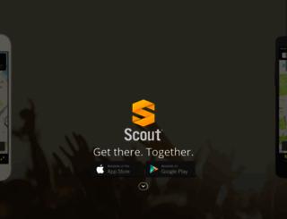 scoutgps.com screenshot