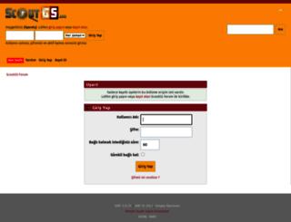 scoutgs.com screenshot