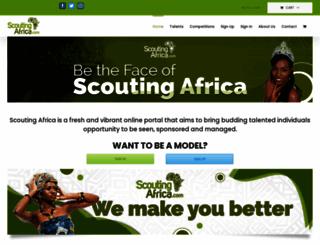 scoutingafrica.com screenshot