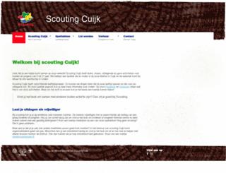 scoutingcuijk.nl screenshot