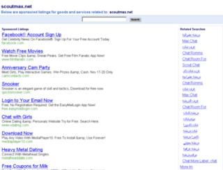 scoutmax.net screenshot