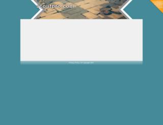 scoutpro.com screenshot
