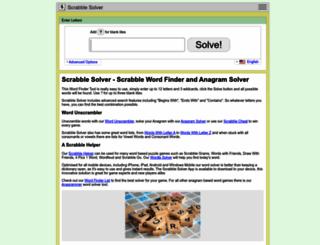 scrabble-solver.com screenshot