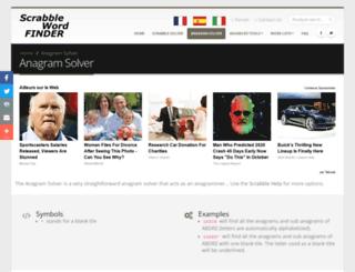 scrabble-word-finder.com screenshot