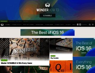 scrabble.wonderhowto.com screenshot