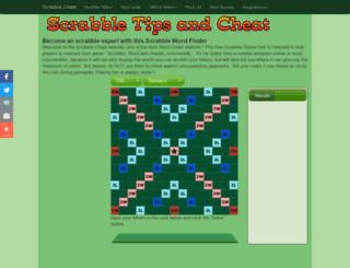 scrabblecheat.org screenshot