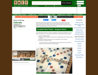 scrabblelinks.com screenshot