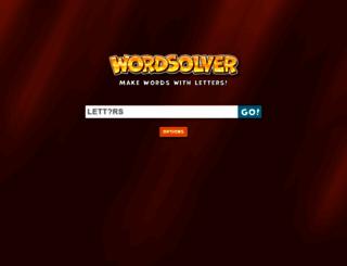 scrabblesolver.net screenshot
