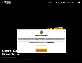 scramblerducati.com screenshot