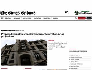 scrantontimes.com screenshot