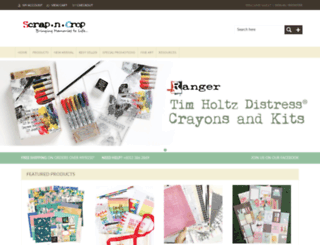 scrap-n-crop.com screenshot