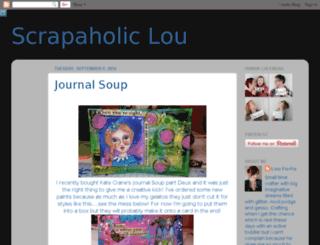 scrapaholic-lou.blogspot.co.uk screenshot