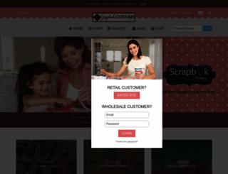 scrapbookcustoms.com screenshot