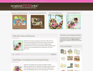 scrapbookideasonline.blogspot.com screenshot