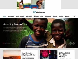 scrapbooking.adoption.com screenshot