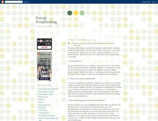 scrapbookingsfun.blogspot.com screenshot