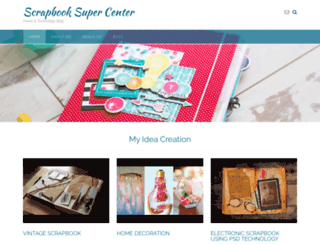 scrapbooksupercenter.com screenshot