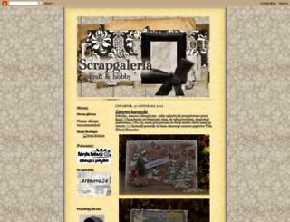 scrapgaleria.blogspot.de screenshot