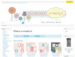 scrapki.pl screenshot