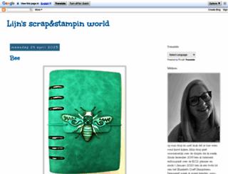 scraplijn.blogspot.fr screenshot