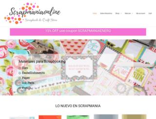 scrapmaniaonline.com screenshot