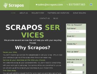 scrapos.com screenshot
