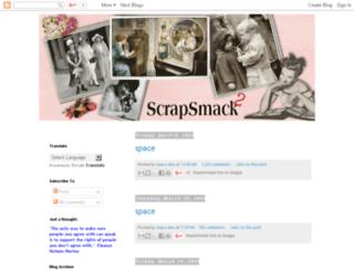 scrapsmacktoo.blogspot.com.au screenshot