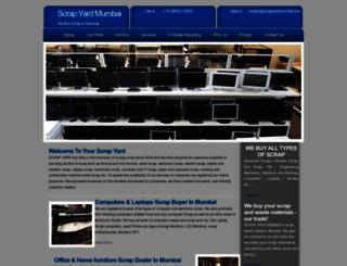 scrapyardmumbai.com screenshot