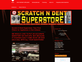 scratchndentsuperstore.co screenshot