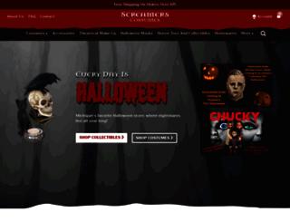screamerscostumes.com screenshot