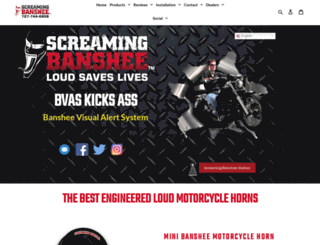 screaming-banshee.com screenshot