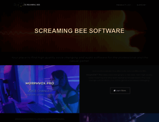 screamingbee.com screenshot