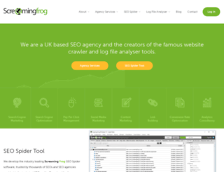 screamingfrog.co.uk screenshot