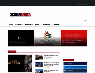 screenafrica.com screenshot