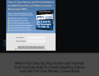 screencastsecrets.com screenshot