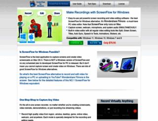 screenflowwindows.com screenshot