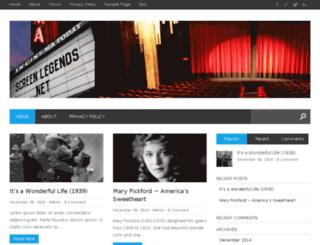screenlegends.net screenshot