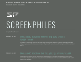screenphiles.com screenshot